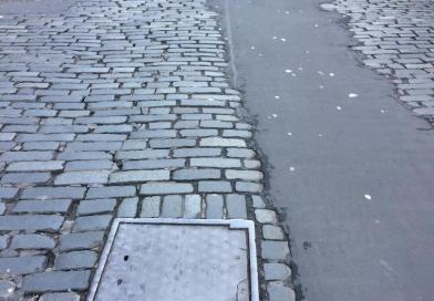 Setted Streets : Victoria Street
