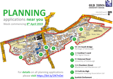Planning list – week commencing 8th April 2019