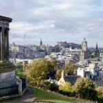 panorama from calton hill edinburgh