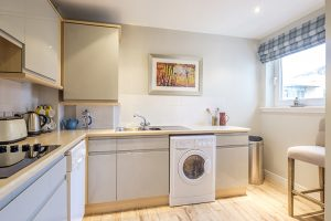 Kitchen of The Botanist Apartment formerly named Parkgate Residence Edinburgh