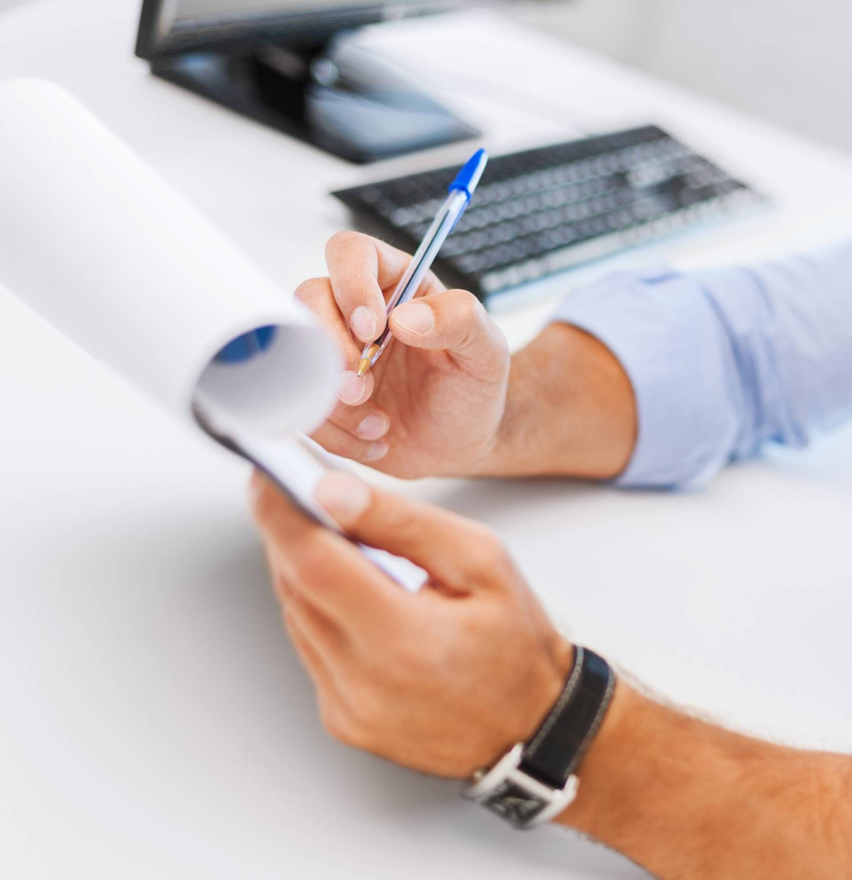 Canva Businessman Working And Signing Papers Scaled