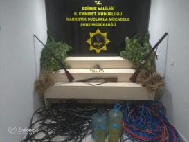 Edirne merkezli 5 ilde uyuşturucu operasyonu