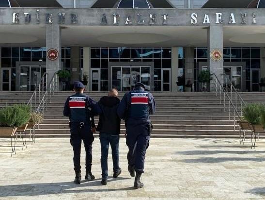 Fas uyruklu göçmeni yağmalayan Tunus uyruklu göçmen Edirne'de yakalandı