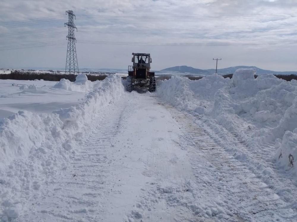 156 köy yolu ulaşıma kapanmıştı, hepsi ulaşıma açıldı