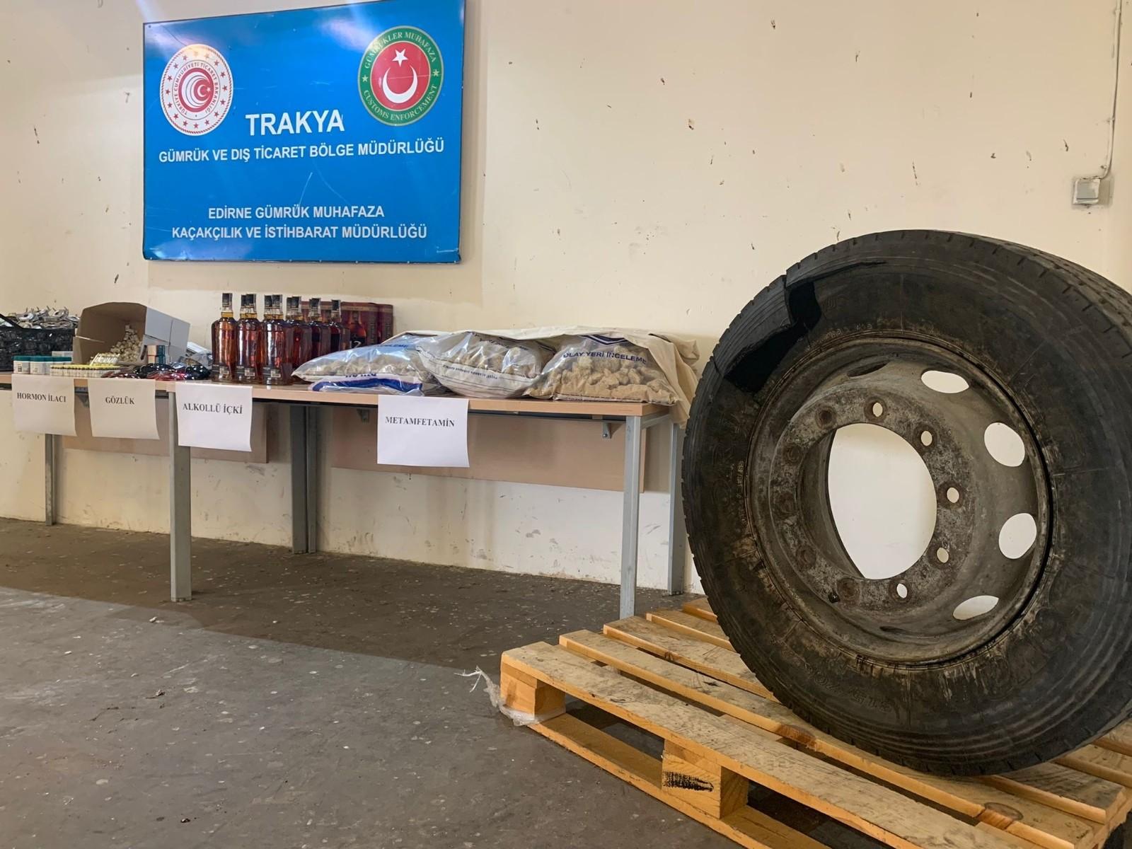 Edirne'de dev kaçakçılık operasyonu