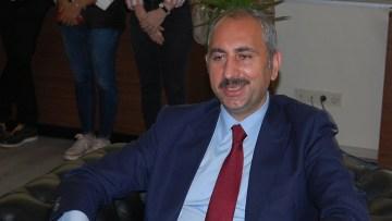 Adalet Bakanı Gül Keşan'da