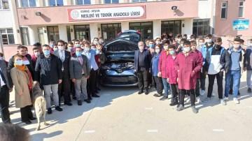 Mesleki ve Teknik Lise öğrencilerini uygulama eğitimlerini yeni nesil sıfır otomobille yapacak
