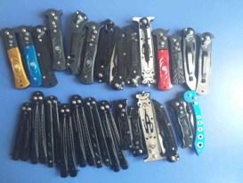 Satışı yasak olan bıçakları satan şahıs gözaltına alındı
