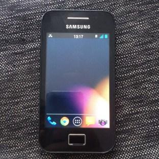 Android 4.1.1 en Samsung Galaxy ACE