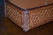 Detail of 8-string round edge braid.