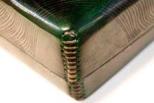 Detail of green box.