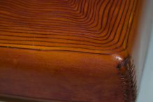 Detail of spiral box.