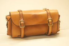 Handle bar bag. All hand made and hand stitched.