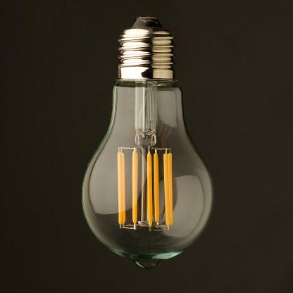 5 Watt Dimmable Lantern Filament LED E26 Clear GLS
