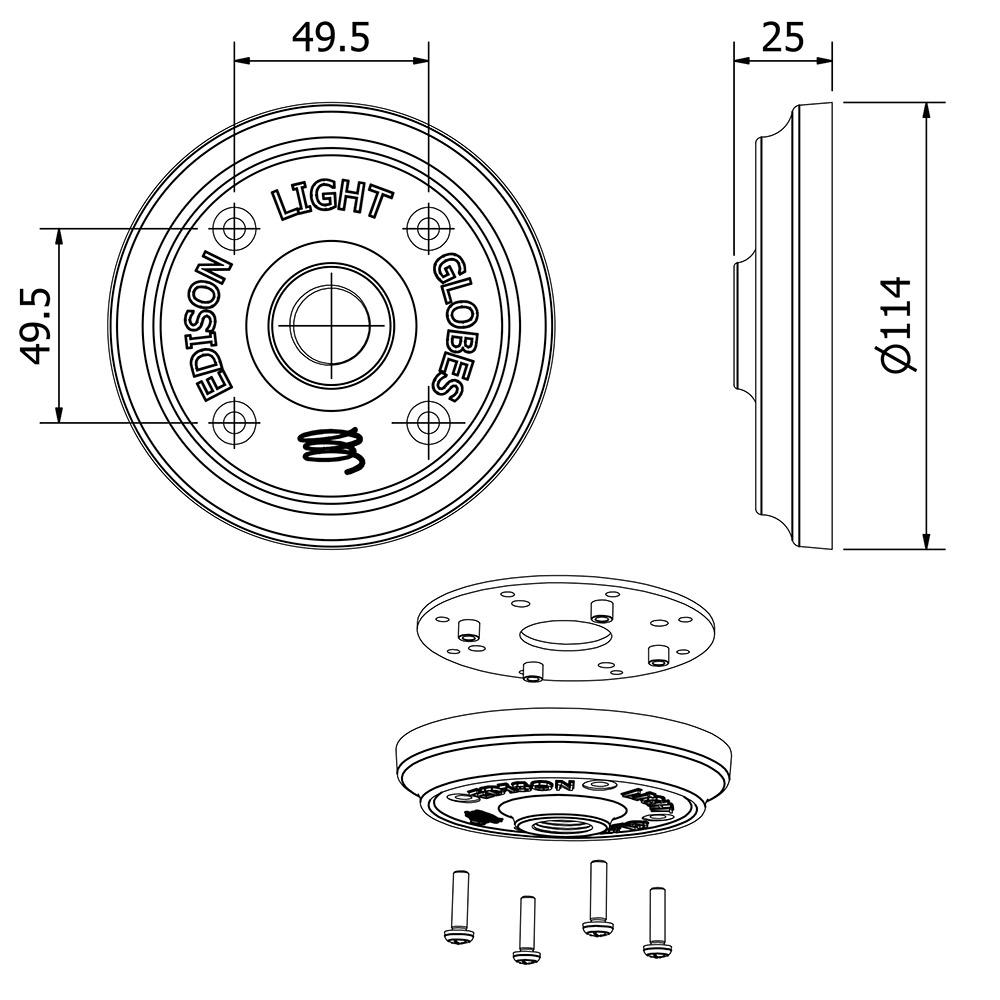 cast aluminum plumbing pipe flange plate