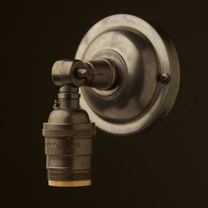 Bronze Wingnut Wall mount E26 socket