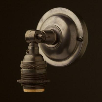 Bronze Wingnut Wall mount E26 socket