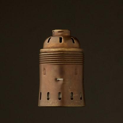 GES Antiqued Brass socket