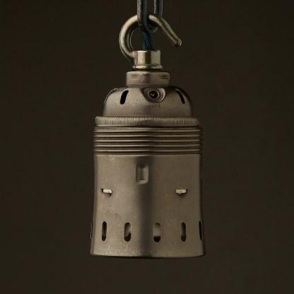 Hook top GES Bronze pendant socket