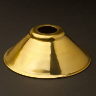Solid brass light shade 7 1/2 inch