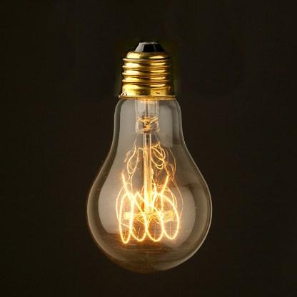 Vintage Edison Smooth Round Filament Bulb