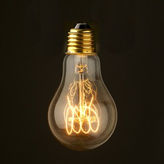 Vintage Edison Smooth Round Filament Bulb