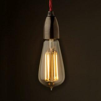Edison style light bulb Contemporary Bakelite fitting