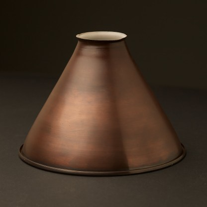 Bronze finish Cone Light Shade