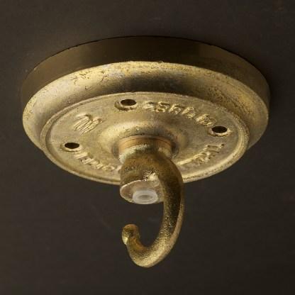 Medium Vintage Brass ships deck light