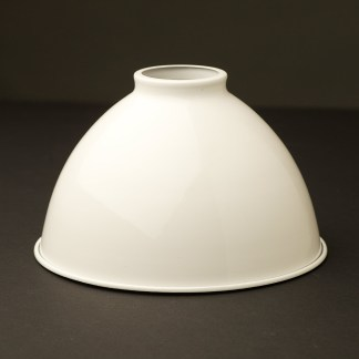 White 7 inch Dome Light Shade