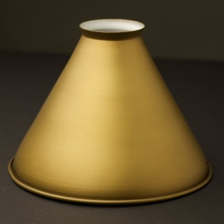 Brass finish Cone Light Shade