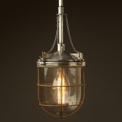 10 inch Aluminum Explosion Proof Pendant Light C110 E27 lamp holder