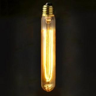 Vintage Edison Medium Tube Filament Bulb E27