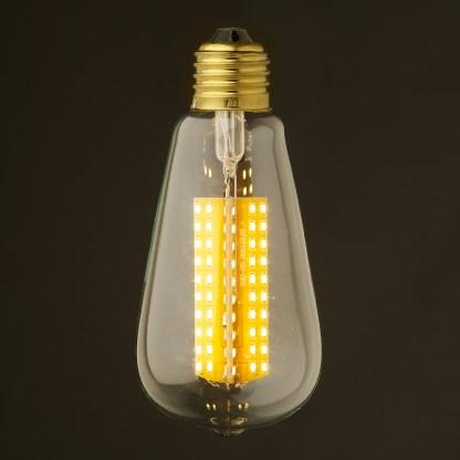 6 Watt Dimmable LED E27 Clear Edison bulb