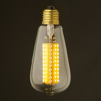 6 Watt Dimmable LED E27 Clear Edison bulb