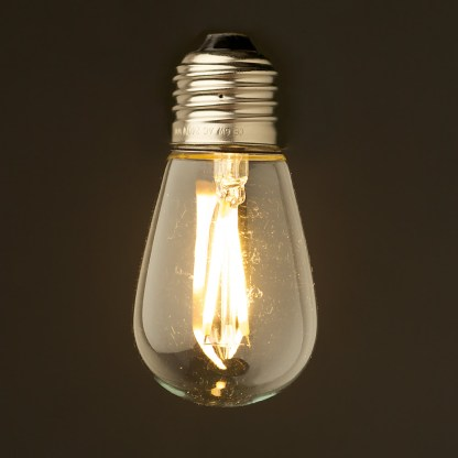 2 Watt Dimmable Filament LED E27 Mini Edison bulb