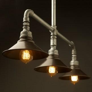 Galvanised Plumbing Pipe Table Light