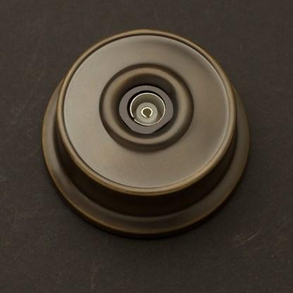 Federation Antique Brass TV Coax Plug