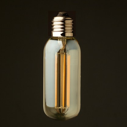 6 Watt Dimmable lantern filament LED E27 short tube bulb