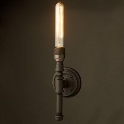 Vintage Black Wall Candle Light E27
