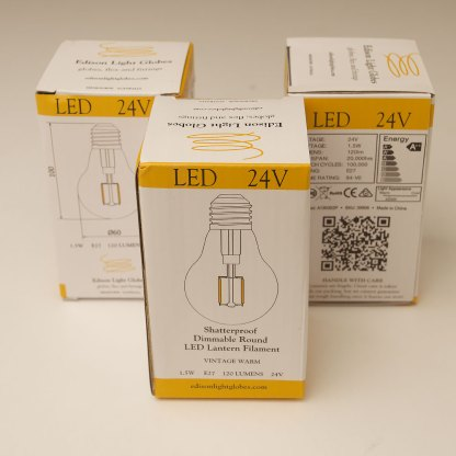 24V 1.5W LED 2200K GLS Festoon bulb