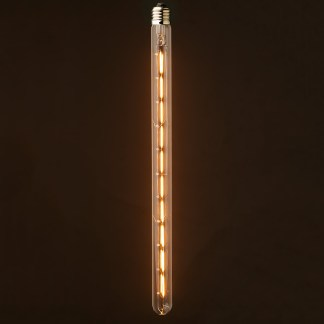 6 Watt Dimmable Filament LED E27 Warm 450mm Tube