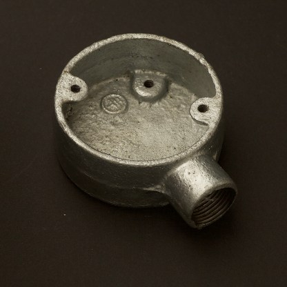 1 Way 20mm Conduit Outlet Junction Box
