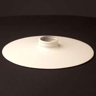 White 10 inch Flat Light Shade