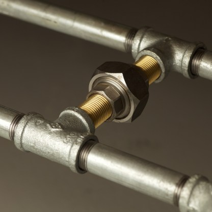 1800 medium plumbing pipe table base kit