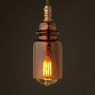 Insulator-No430-Amber-240V-E14-pendant-light-LED-3-Watt-750x750