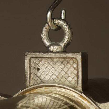 800 mm Vintage glass explosion proof cast aluminium light d ring