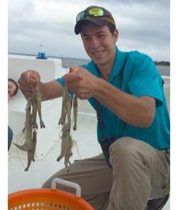 Edisto Island shrimping trip