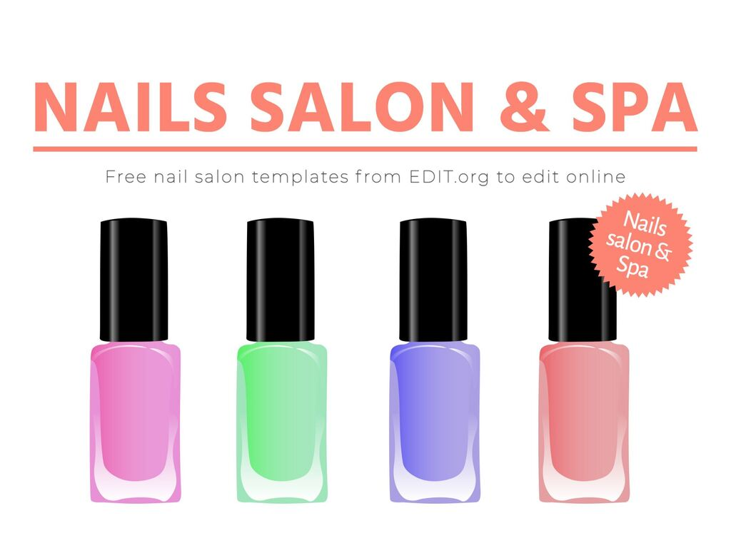 editable designs for nail salons