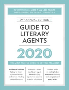Book Cover: Guide to Literary Agents 2020